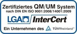 DIN EN ISO 9001 Zertifizierung von Kaminkehrer und Schornsteinfeger Ralf Gröbner
