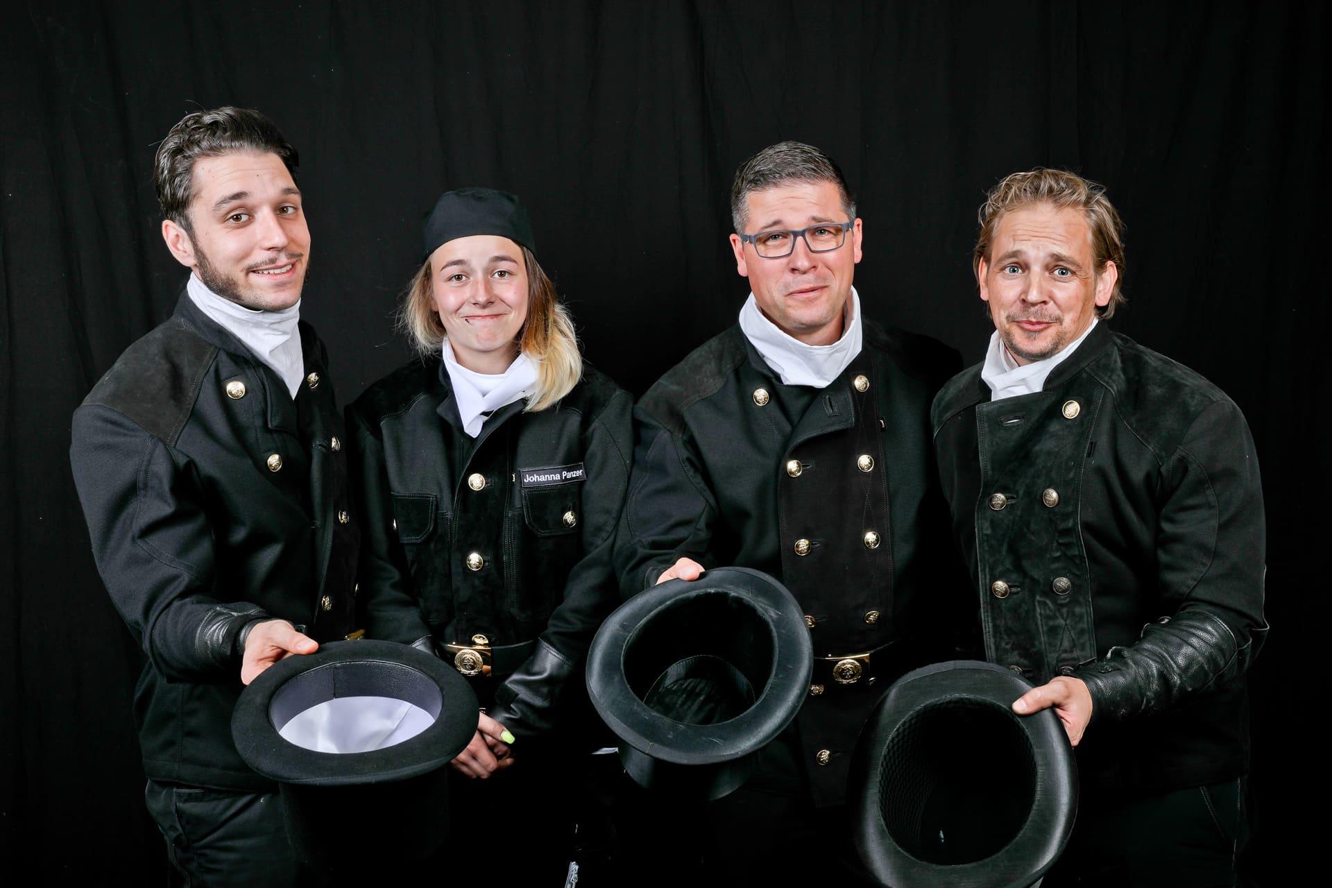 Mit Spaß bei der Arbeit sind die Schornsteinfeger von Ralf Gröbner Schornsteinfegermeister in Oberfranken